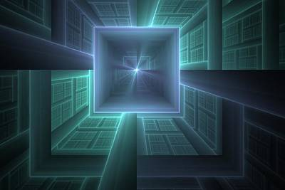 Apo Digital Art - Going Down by Lyle Hatch