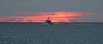Photograph - Going Fishing At Dawn by Robert Banach