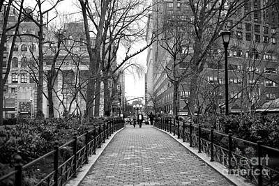 Going For A Walk In Union Square Park Art Print