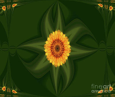 Mixed Media - Going Green  by Elfriede Fulda