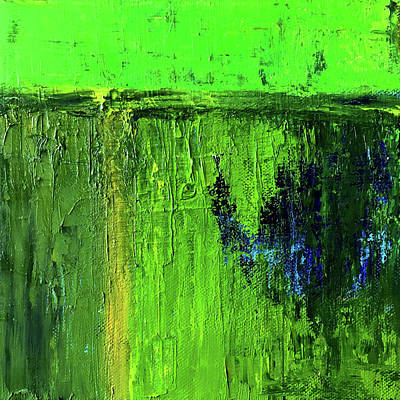 Painting - Going Green by Nancy Merkle