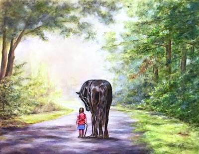 Painting - Going Home by Dr Pat Gehr