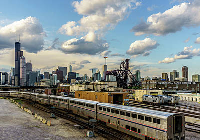 Chicago Photograph - Going Home by Med Studio