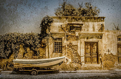 Photograph - Rhodes, Greece - Going Nowhere by Mark Forte