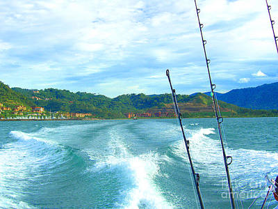 Photograph - Going Out Fishing In Costa Rica by Merton Allen