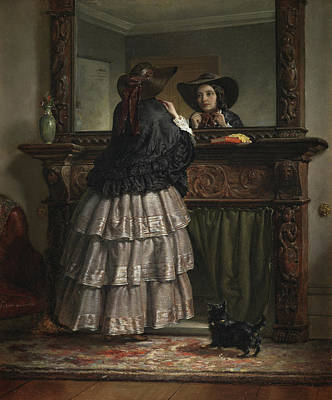 Full Skirt Painting - Going Out  by Philip Hermogenes Calderon