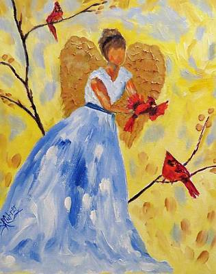 Painting - Going Out To Say Hello by Sandra Cutrer