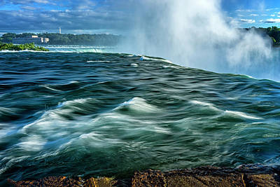 Photograph - Going Over The Falls_dsc8595_16 by Greg Kluempers