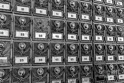 Photograph - Going Postal by Jon Burch Photography