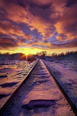 Photograph - Going Somewhere by Phil Koch