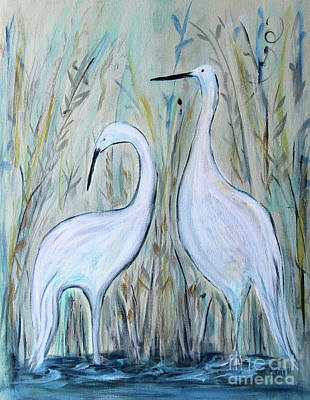 Painting - Going Steady by Karen Day-Vath