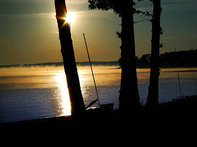 Clarks Hill Lake Photograph - Going To Be A Good Day For Sailing by Michael Whitaker