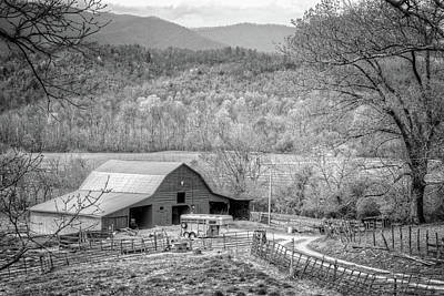 Photograph - Going To Carolina In My Mind Black And White by Debra and Dave Vanderlaan