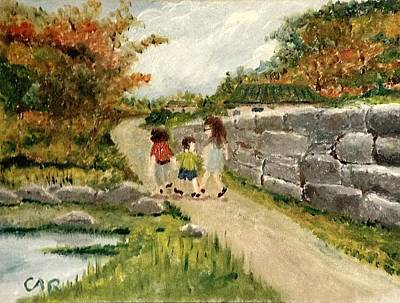 Painting - Going To Grandma's House by Charles Ray