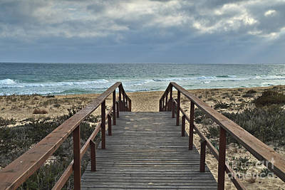Photograph - Going To Ilha Deserta In Algarve by Angelo DeVal