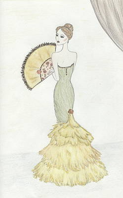 Going To The Ball Art Print by Christine Corretti