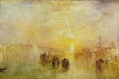 Painting - Going To The Ball by Joseph Mallord William Turner