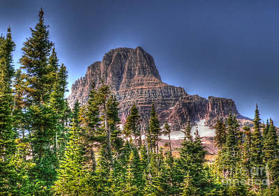Photograph - Going To The Sun Road by David Bearden