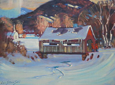 Painting - Going To Town by Len Stomski