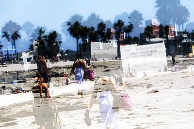 Photograph - Going To Venice Beach by John Rizzuto