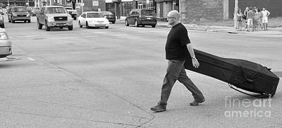 Photograph - Going To Work by Bob Brents
