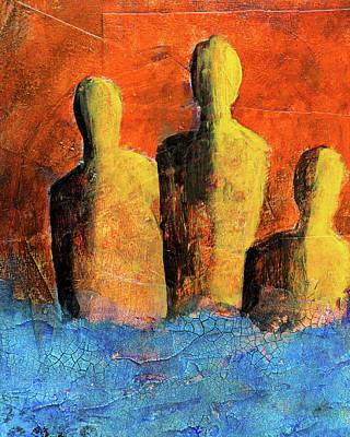 Painting - Going Under by Nancy Merkle