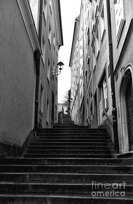 Photograph - Going Up In Salzburg by John Rizzuto