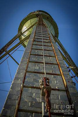 Photograph - Going Up Mary Leila Cotton Mill Water Tower Art by Reid Callaway
