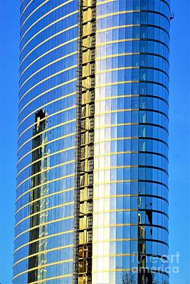 Going Up Nashville2 Art Print