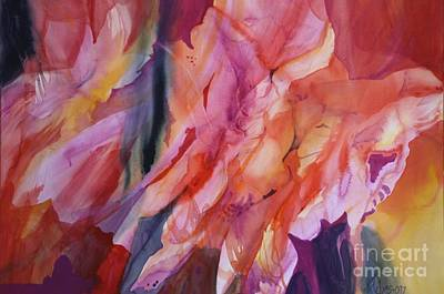 Painting - Going With The Flow by Donna Acheson-Juillet