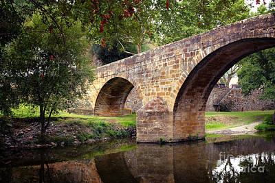 Gois Bridge Art Print