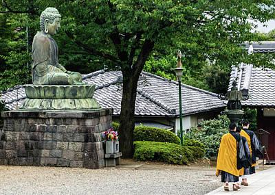 Photograph - Gokoku-ji 1 by Steven Richman