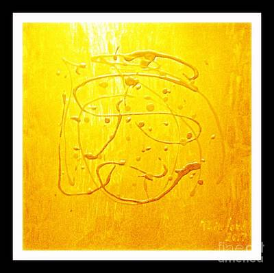 Painting - Gold 1000 by Richard W Linford
