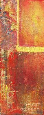 Painting - Gold And Crimson by Philip Bowman