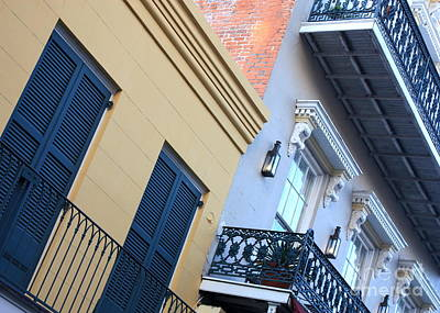 Gold And Gray In New Orleans Art Print by Carol Groenen