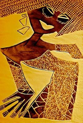 Archetype Painting - Gold Aphrodite by Tetka Rhu