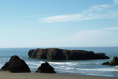 Photograph - Gold Beach, Oregon by Mary Capriole