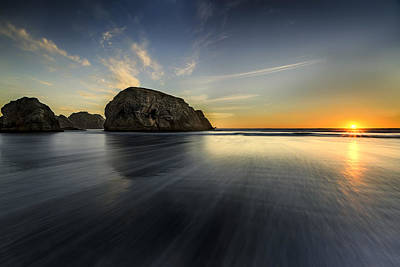 Photograph - Gold Beach by PhotoWorks By Don Hoekwater