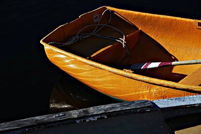 Photograph - Gold Boat by AnnaJanessa PhotoArt