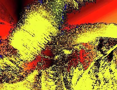Digital Art - Gold Calderon by Ronald Irwin