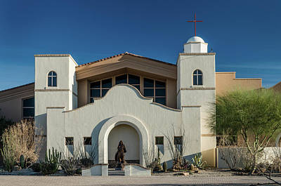 Photograph - Gold Canyon Church by Greg Nyquist