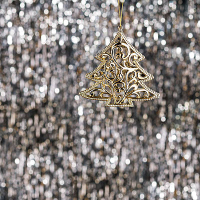 Photograph - Gold Christmas Tree by Ulrich Schade