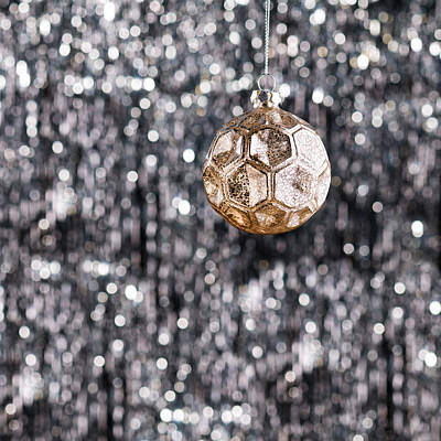 Photograph - Gold Christmas by Ulrich Schade