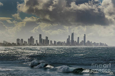 Photograph - Gold Coast City by Werner Padarin