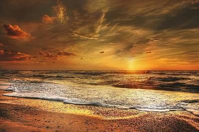 Digital Art - Gold Coast by Michael Damiani