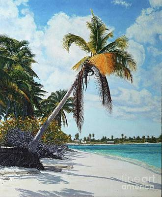 Painting - Gold Coconut by Eddie Minnis