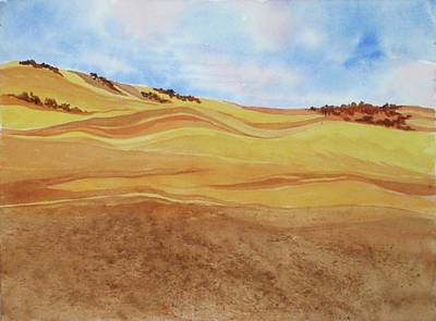 Painting - Gold Country by Renee Goularte