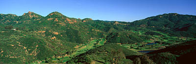 Malibu Photograph - Gold Course, Malibu, California by Panoramic Images