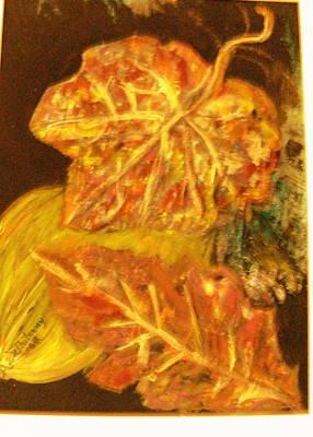 Gold Gold Gold Print by Anne-Elizabeth Whiteway