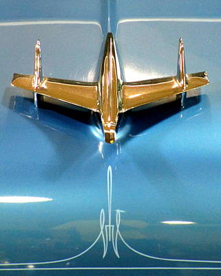 Photograph - Gold Hood Ornament by Randall Weidner